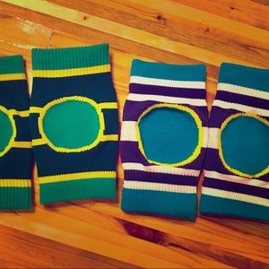 2 pairs of baby knee pads for crawling